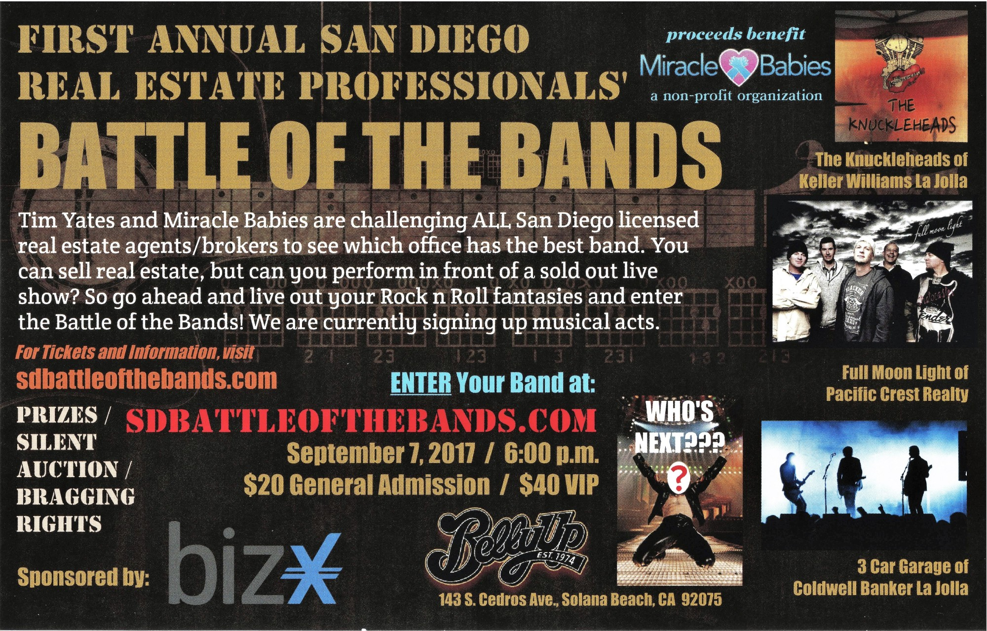 San Diego Realtor battle of the bands
